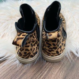 1ca50988bf6 Steve Madden Shoes - Steve Madden Elvinn leopard print high top shoes